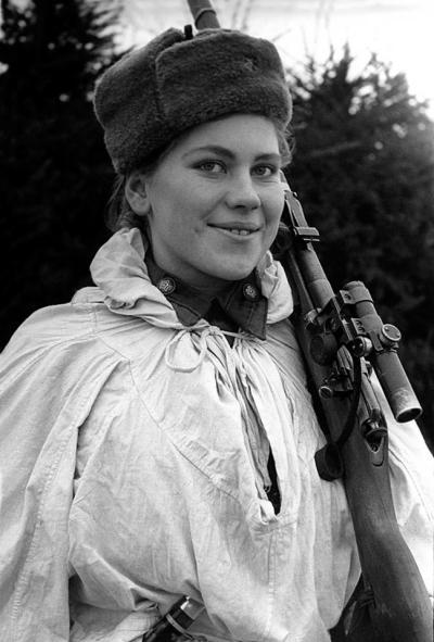 roza-shanina-soviet-sniper-ww2-bw